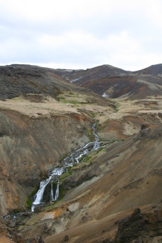 Reykjadalur streams