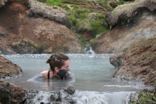 Katie Botkin in Iceland